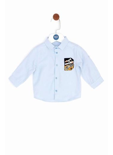 BG Baby Erkek Bebek Mavi Gömlek Mavi